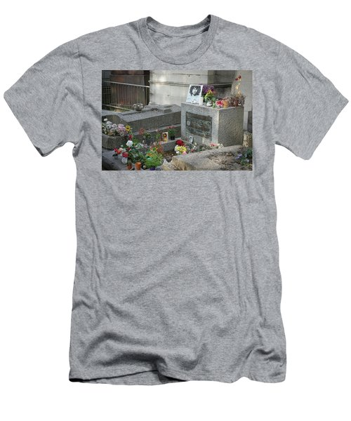 Jim Morrison's Grave Men's T-Shirt (Athletic Fit)