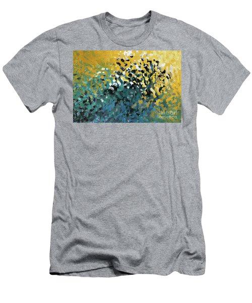John 8 12. The Light Of Life Men's T-Shirt (Athletic Fit)
