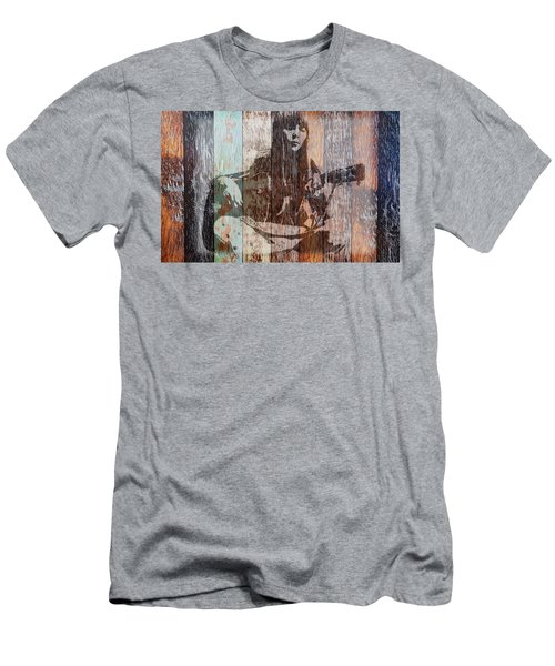 Joni Mitchell Men's T-Shirt (Athletic Fit)