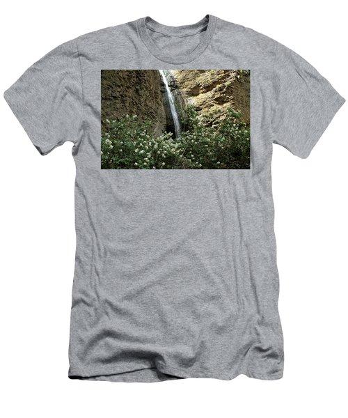 Jump Creek Falls Canyon Men's T-Shirt (Athletic Fit)