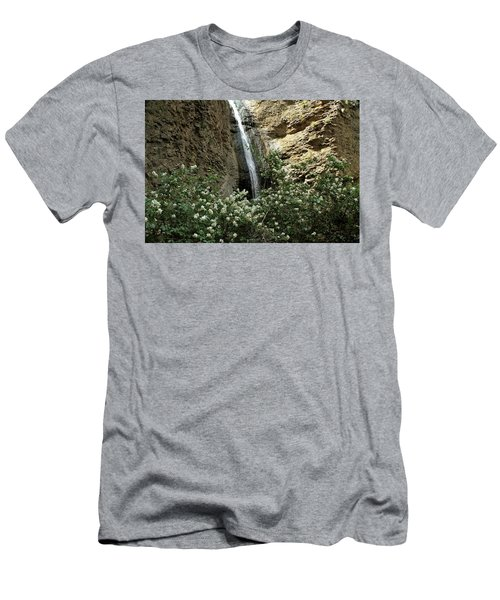Jump Creek Falls Canyon Men's T-Shirt (Athletic Fit)