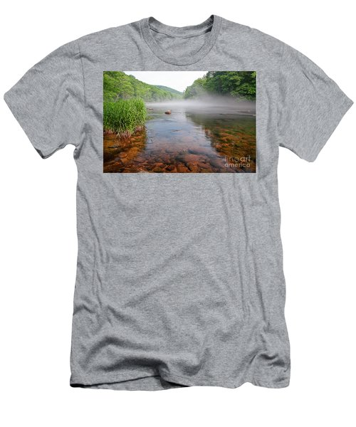 June Morning Mist Men's T-Shirt (Athletic Fit)