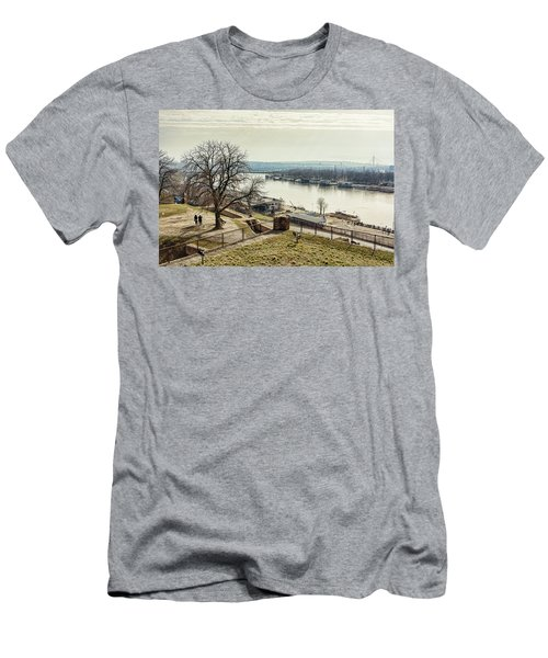 Kalemegdan Park Fortress In Belgrade Men's T-Shirt (Athletic Fit)