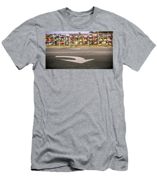 Kayaks Men's T-Shirt (Athletic Fit)