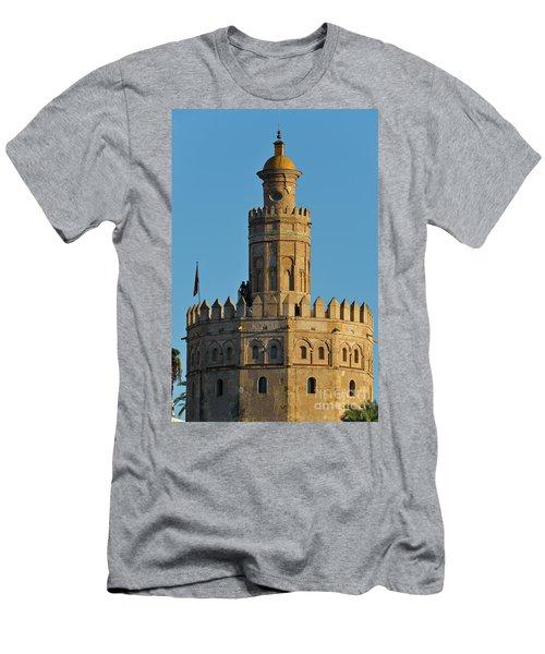 La Torre De Oro Detail. Seville Men's T-Shirt (Athletic Fit)