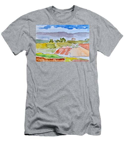 Laguna Del Sol #4 Men's T-Shirt (Athletic Fit)