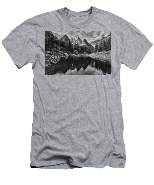 Lake In The Alps Men's T-Shirt (Athletic Fit)