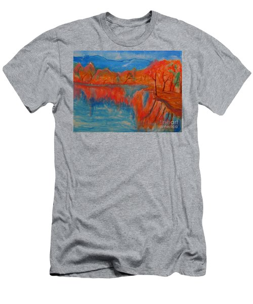 Lake Mirror Men's T-Shirt (Athletic Fit)