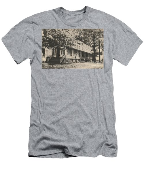 Lake View Hotel On Lake Hopatcong Men's T-Shirt (Athletic Fit)