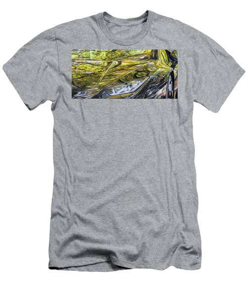 Lamborghini Fall Reflections Men's T-Shirt (Athletic Fit)