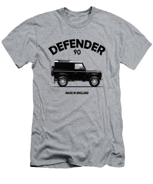 Land Rover Defender 90 Men's T-Shirt (Athletic Fit)