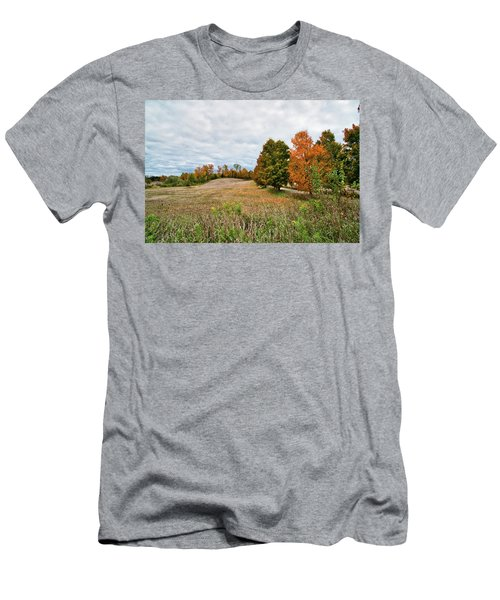 Landscape In The Fall Men's T-Shirt (Athletic Fit)