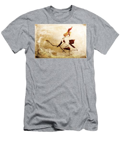 Men's T-Shirt (Athletic Fit) featuring the photograph Last Movement by Randi Grace Nilsberg