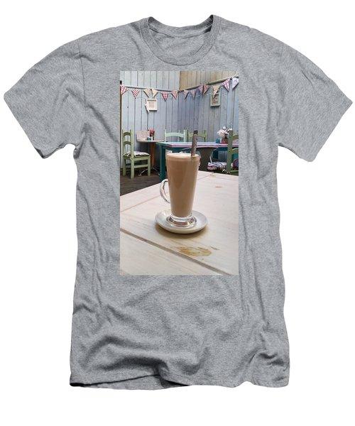 Latte Time Men's T-Shirt (Athletic Fit)