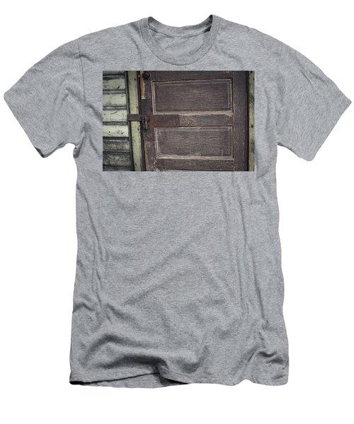 Leather Door Men's T-Shirt (Athletic Fit)