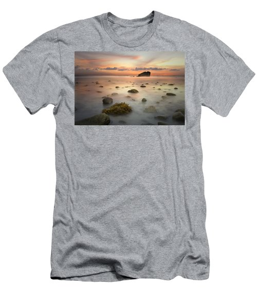 Malibu Sunset Men's T-Shirt (Athletic Fit)