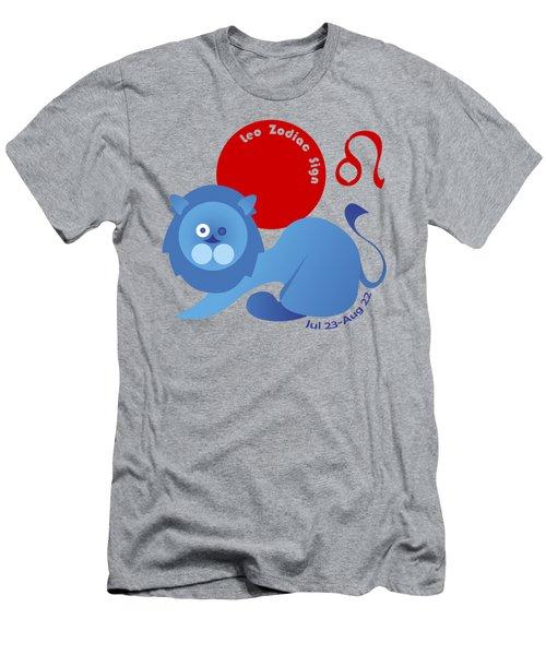 Leo - Lion Men's T-Shirt (Athletic Fit)