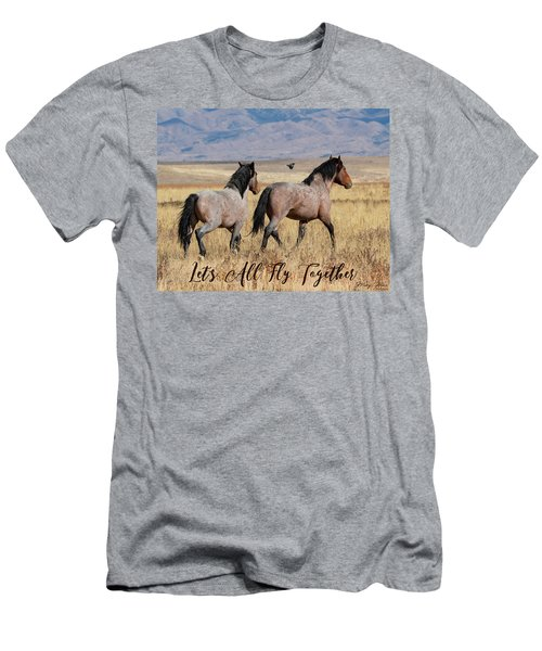 Let's All Fly Together Men's T-Shirt (Athletic Fit)