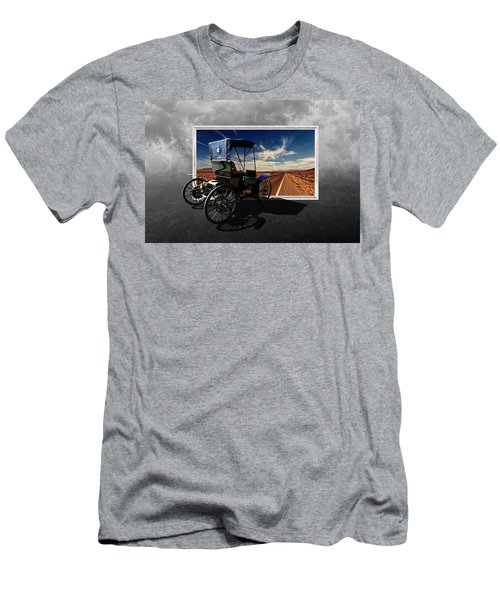 Let's Go On A Colorful Adventure Men's T-Shirt (Athletic Fit)