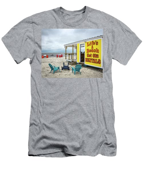 Like's A Beach Men's T-Shirt (Athletic Fit)