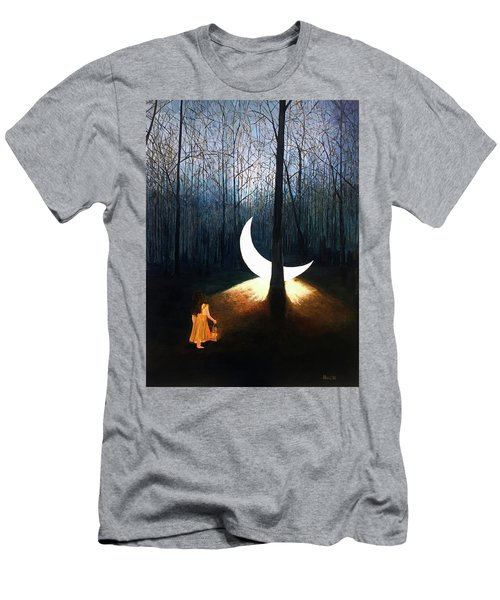 L'il Luna Men's T-Shirt (Athletic Fit)