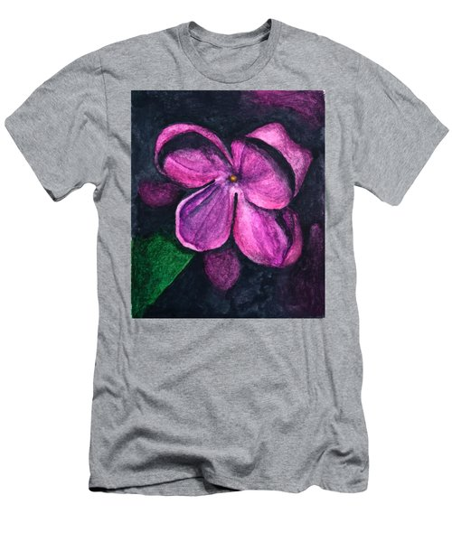 Lilac Blossom I Men's T-Shirt (Athletic Fit)