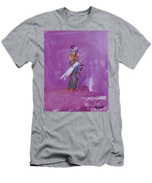 Little Indian Angel Men's T-Shirt (Athletic Fit)