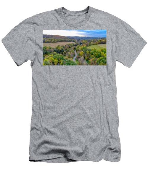 Little Meadows  Men's T-Shirt (Athletic Fit)