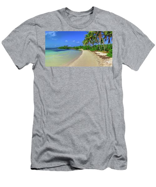 Living On An Island Men's T-Shirt (Athletic Fit)