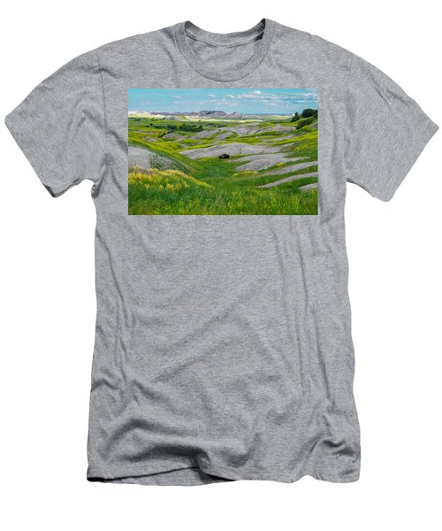 Lone Buffalo Men's T-Shirt (Athletic Fit)