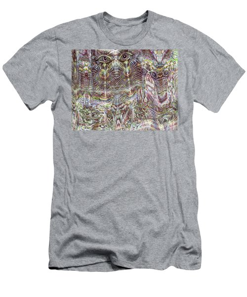 Looking Through Men's T-Shirt (Athletic Fit)