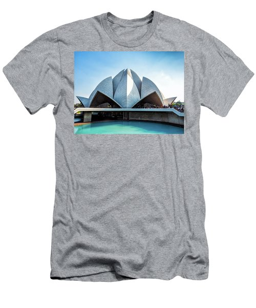 Lotus Temple Men's T-Shirt (Athletic Fit)