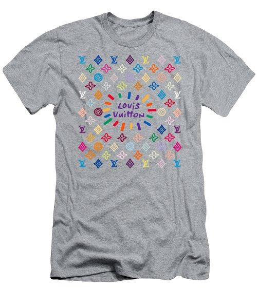Louis Vuitton Monogram-8 Men's T-Shirt (Athletic Fit)