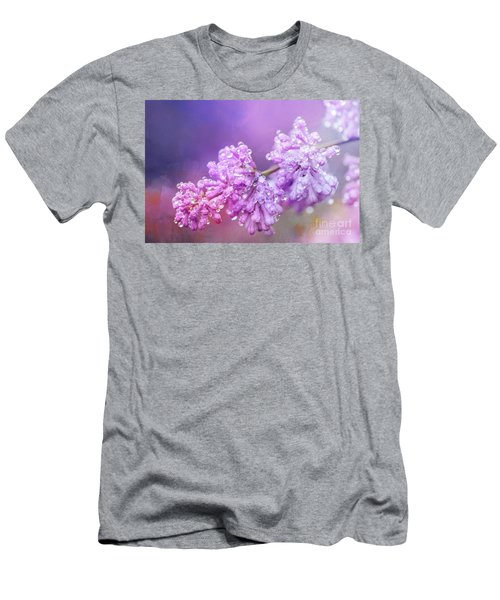 The Magic Of Lilacs In The Rain Men's T-Shirt (Athletic Fit)