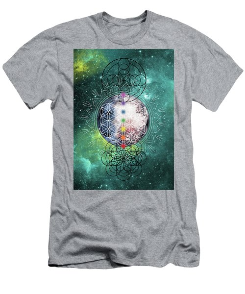 Lunar Mysteries Men's T-Shirt (Athletic Fit)