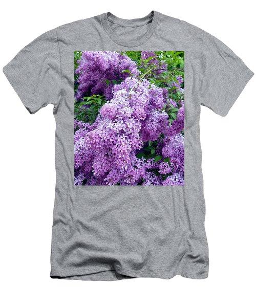 Magnificent Lilacs Men's T-Shirt (Athletic Fit)
