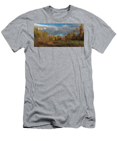 Maine Wilderness Color 2 Men's T-Shirt (Athletic Fit)