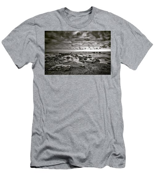 Men's T-Shirt (Athletic Fit) featuring the photograph Malibu Clouds by John Rodrigues