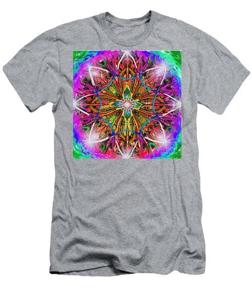 Mandala 12 11 2018 Men's T-Shirt (Athletic Fit)