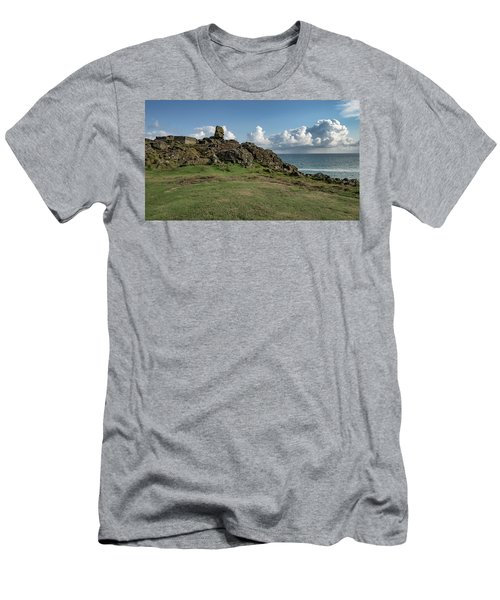 Man's Head - St Ives Cornwall Men's T-Shirt (Athletic Fit)