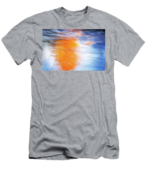 Maple Reflection Fall Men's T-Shirt (Athletic Fit)