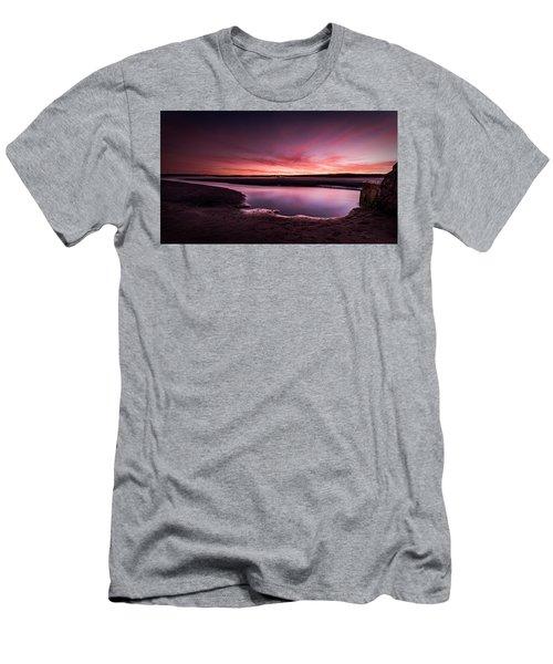 Marazion Sunset Men's T-Shirt (Athletic Fit)