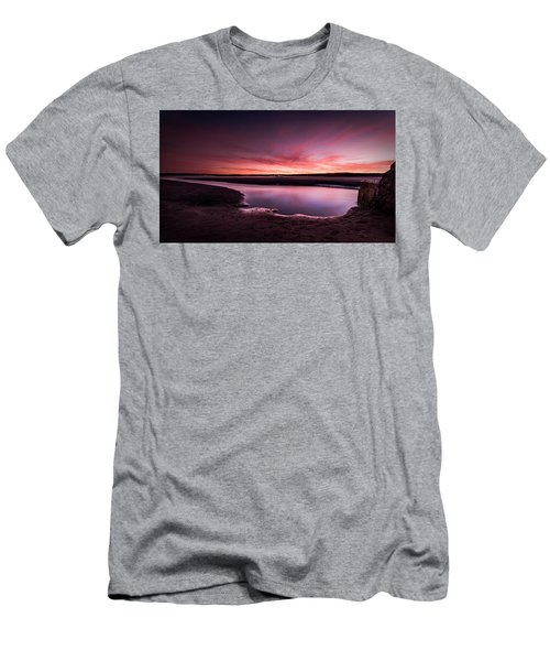 Marazion Sunset Men's T-Shirt (Athletic Fit)