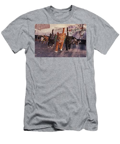 March Of The Mau Men's T-Shirt (Athletic Fit)