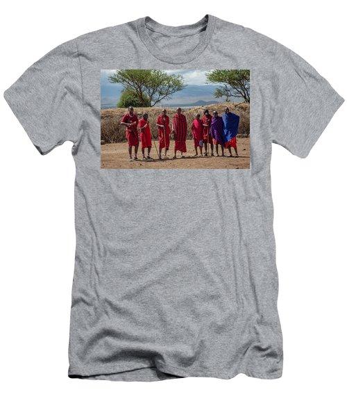 Maasai Men Men's T-Shirt (Athletic Fit)