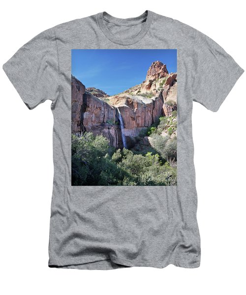 Massacre Trail Waterfall Men's T-Shirt (Athletic Fit)