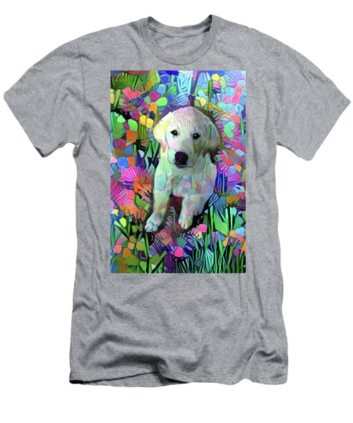 Max In The Garden Men's T-Shirt (Athletic Fit)