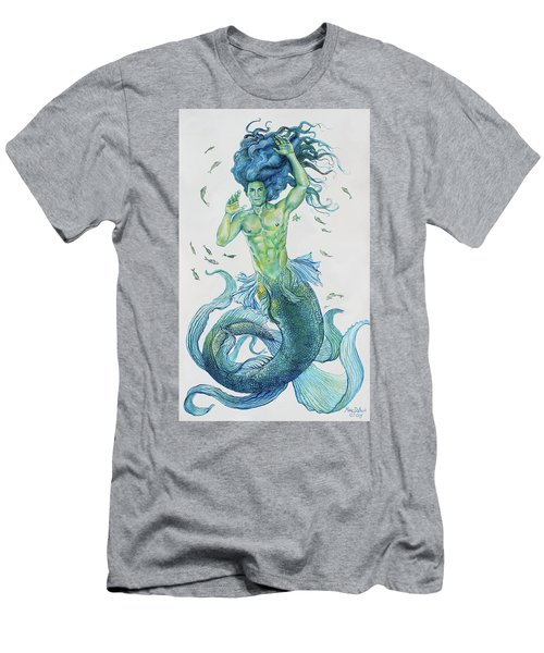Merman Clyde Men's T-Shirt (Athletic Fit)