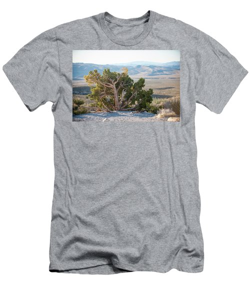 Mesquite In Nevada Desert Men's T-Shirt (Athletic Fit)