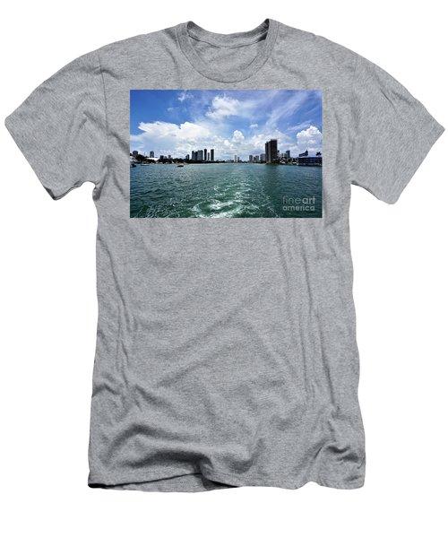 Miami2 Men's T-Shirt (Athletic Fit)